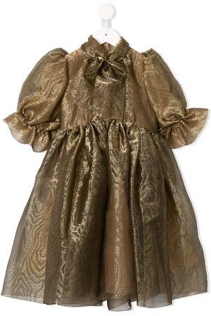 Dolce & Gabbana Pussy bow organza dress