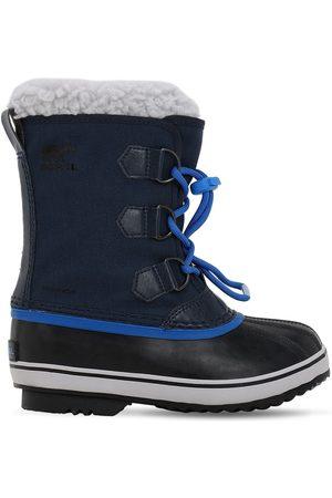 sorel Waterproof Nylon Canvas Boots