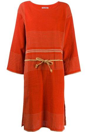 Issey Miyake Women Tunic Dresses - 1970s stitched tunic dress