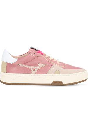 Mizuno Women Sneakers - Saiph 3 Nu Leather & Suede Sneakers