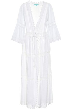 Melissa Odabash Robbi cotton-lace kaftan