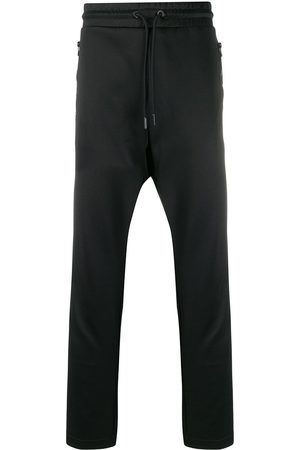 Diesel Trousers - Track pants with knitted bands