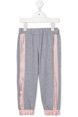 Simonetta Stripe detail track pants