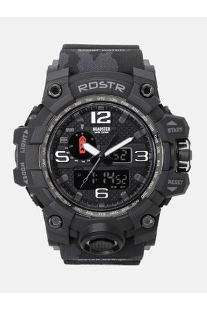 Roadster Men Black Multi Function Analogue and Digital Watch MFB-PN-SM-1545