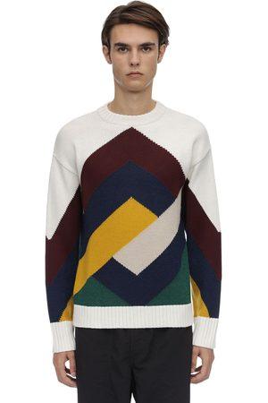 Drôle de Monsieur Men Jumpers - Graphic Mereno Wool Blend Sweater