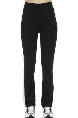 Fila Women Trousers - Catriona Cotton Blend Track Pants