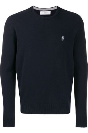 PRINGLE OF SCOTLAND Men Jumpers - Embroidered logo knit sweater