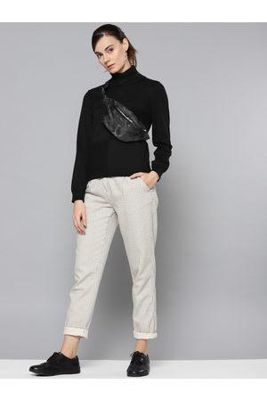 STREET 9 Women Black Solid Sweater