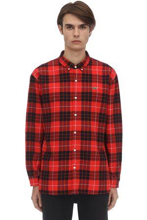 Lacoste Plaid Cotton Shirt