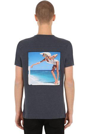 Limitato Riviera Patch Cotton Jersey T-shirt