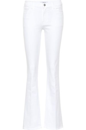 J Brand Sallie mid-rise flared jeans