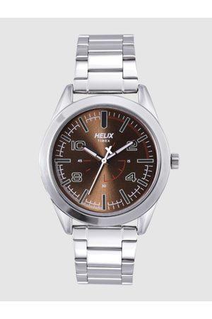 Helix Men Watches - Men Bronze-Toned Analogue Watch TW031HG03