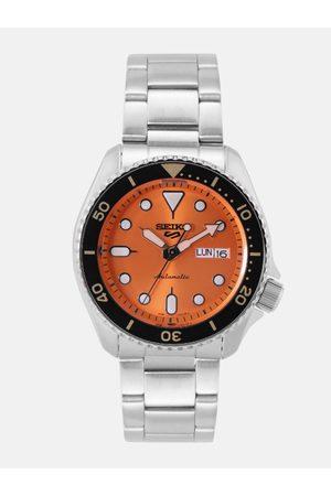Seiko 5 Automatic Men Orange Analogue watch SRPD59K1