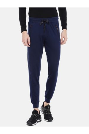 Sweet Dreams Men Navy Blue Solid Joggers