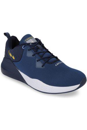 Campus Men Blue Mesh Milan Running Shoes
