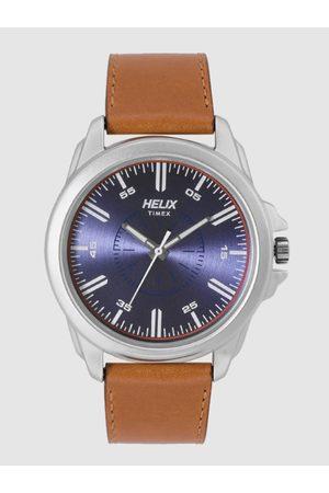 Helix Men Navy Blue Analogue Watch TW032HG02