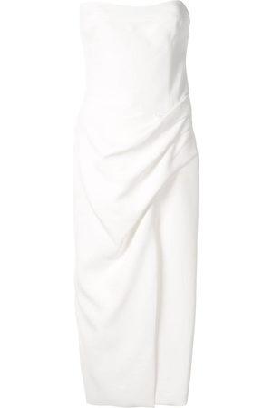 MANNING CARTELL Hit Predictor strapless midi dress