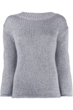 FORTE FORTE Metallic slim-fit jumper