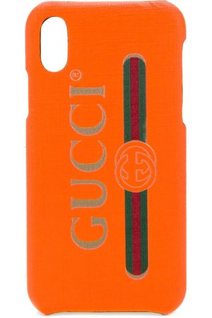 Gucci Women Phone Cases - Logo print iPhone X case