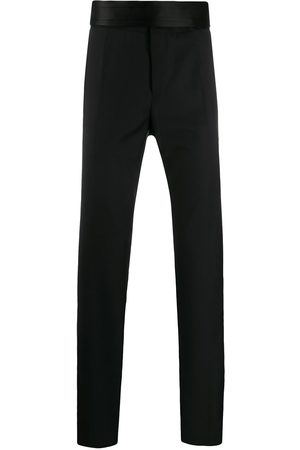 Dolce & Gabbana Men Formal Trousers - Oversized waistband tailored trousers