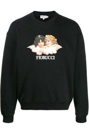 Fiorucci Men Sweatshirts - Vintage Angels sweatshirt