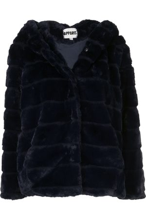 Apparis Goldie panelled faux-fur coat