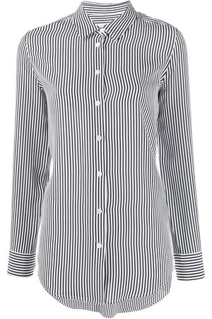 Equipment Women Long Sleeve - Striped button shirt