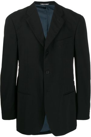 Giorgio Armani 1990s notched lapel slim-fit blazer