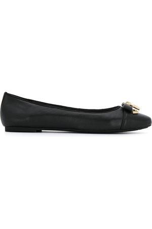 Michael Kors Collection Alice padlock detail ballerina shoes