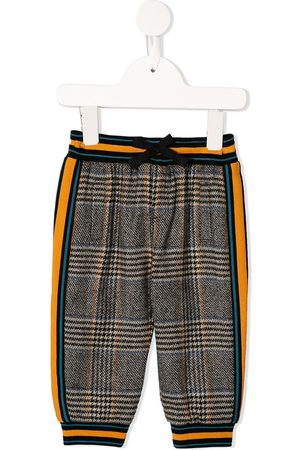 Dolce & Gabbana Kids Check-tartan trousers