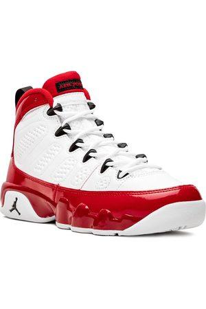 Jordan Kids Boys Shoes - TEEN Air Jordan 9 Retro GS gym red
