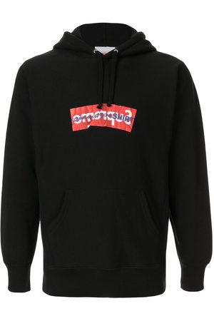 Supreme X Commes Des Garcon logo hoodie