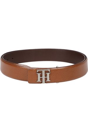 Tommy Hilfiger Men Brown Textured Belt