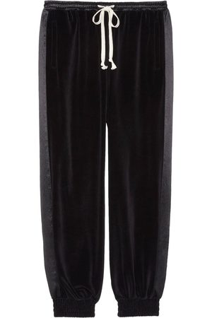Gucci Logo tag cropped trousers