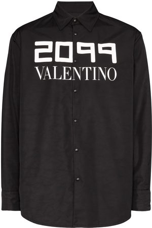 VALENTINO 2099 logo nylon light jacket