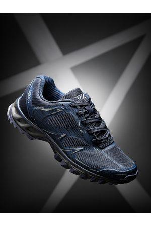 HRX Men Navy Blue Running Shoes