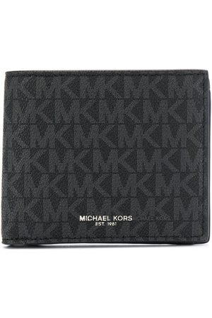 Michael Kors Men Wallets - Logo-print foldover wallet
