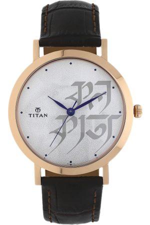 Titan Men Grey Analogue Watch 1740WL01