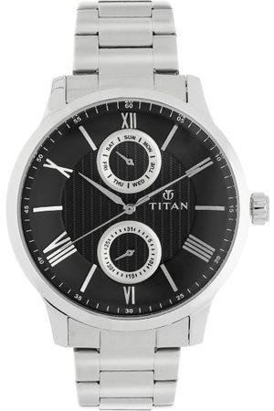 Titan Men Watches - Men Black Analogue Watch 90100SM01
