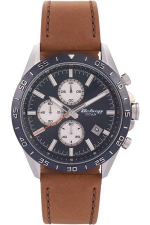 Titan Men Blue Analogue Watch 90106KL01