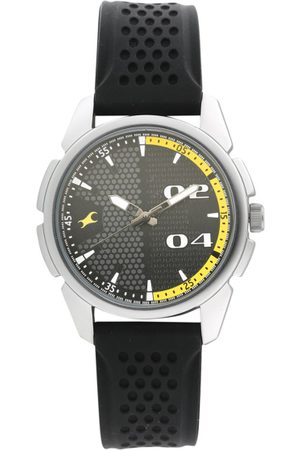 Fastrack Men Grey Analogue Watch 3124SP02