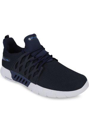 Campus Men Navy Blue Mesh BELGIUM PLUS Running Shoes
