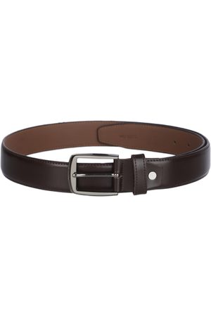 KARA Men Brown Solid Belt
