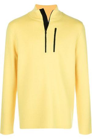 Aztech Zip detail high neck sweater