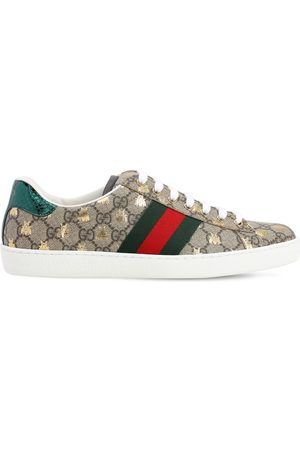 Gucci 50mm New Ace Gg Supreme Sneakers W/ayers