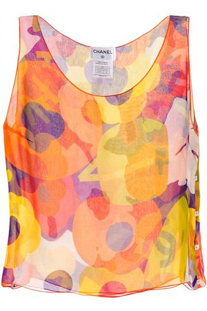 CHANEL Abstract print vest