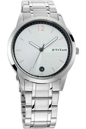 Titan Neo Men Off White Analogue watch 1806SM01