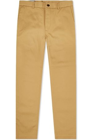 Gucci Men Chinos - Hand Stitch Logo Regular Fit Chino