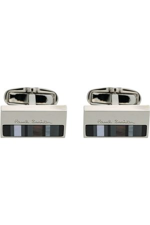 Paul Smith Striped cufflinks