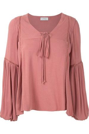 Olympiah Hagia wide sleeves blouse